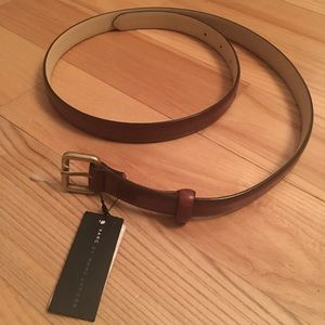 Marc by Marc Jacobs Skinny Brown Belt XS/S NWT